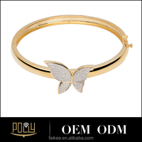 butterfly gold bracelet jewelry design for girls