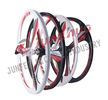high quality 3 sproke magnesium alloy bicyle wheel