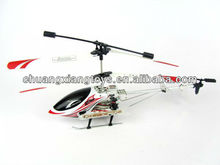 38cm indoor 3CH die-cast remote control helicopter with gyro