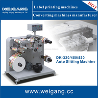DK-520 Auto paper slitter / paper slitting and rewinding machine