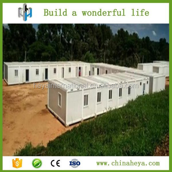 Mobile homes Kenya standard container houses prefabricated for refugee