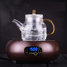 Hot sale clear glass arabic water tea pot/jug /glass jug set with infuser