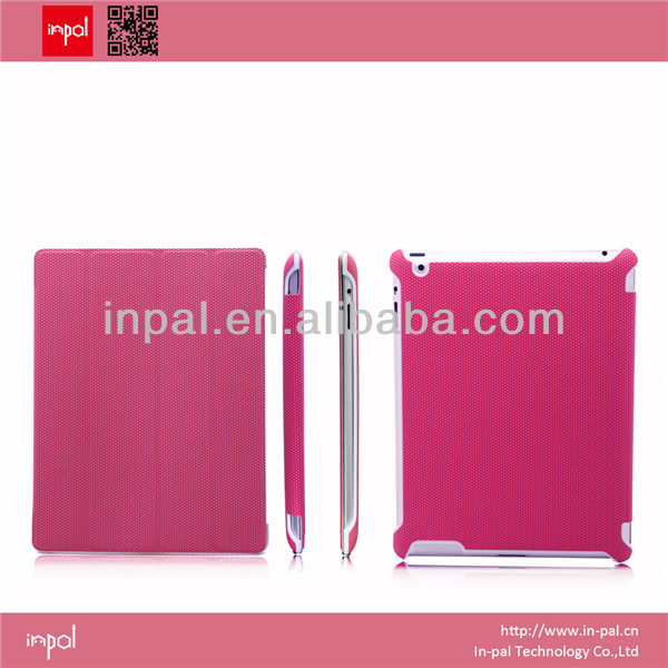 New products unique custom tablets accessories leather case for ipad covers wholesale shenzhen manufacturer for business gift