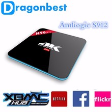Amlogic S912 Octa Core 4K Output Android TV Box H96 PRO 2GB/16GB BT 4.0 Smart TV Box