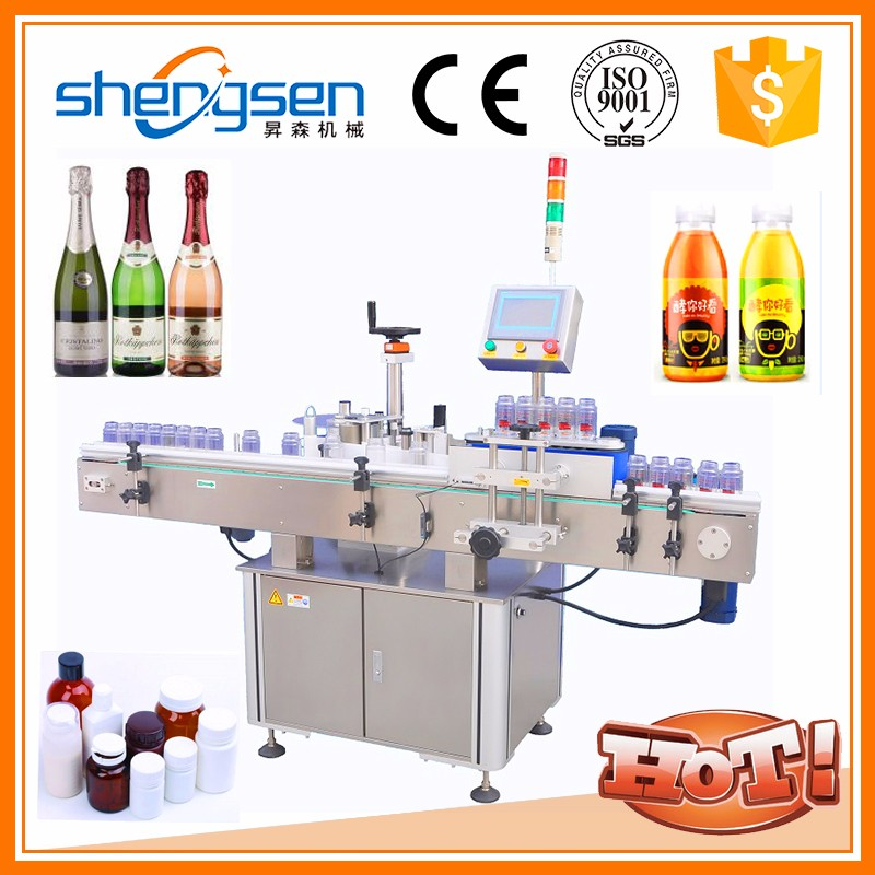 Opreation Simple Practical And Efficient Small Model Bottle Label Sticker Machine