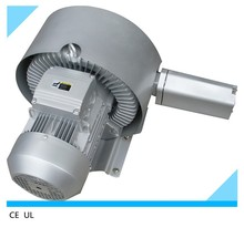 double stage electric turbine regenerative air blower