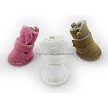JML Top Selling Warm Winter Dog Boots for Puppies Pet Supply Dog Shoes