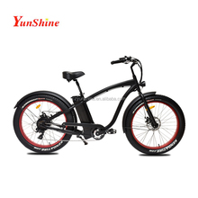 26 inch fat tire electric bike beach cruiser
