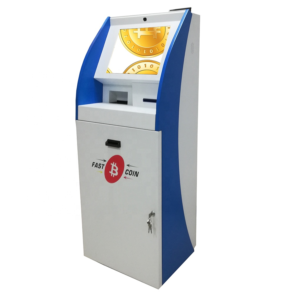 China manufacturer for free standing Self-Service automated terminal <strong>payment</strong> touchscreen kiosk machine