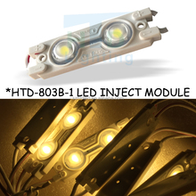 Aluminum better heat dissipation led module lens 12v high power led smd-5050 -led led injection module
