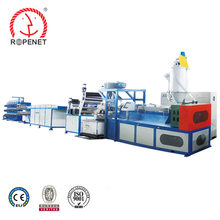 Flexible operation plastic pp split-film extruder machine for rope