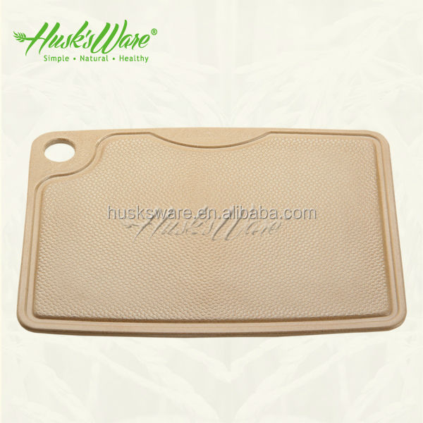 Eco Friendly 100% Non Plastic Cutting Board with Antibacterial Nano Silver Technology