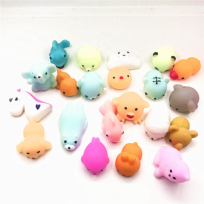 Wholesale Squishies Slow Rising Rubber Mochi Squeeze Silicone Anti Stress <strong>Toys</strong>