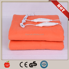 2016 NEW hot sale polyester 220V electric heating blanket with timers and competitiveness price