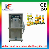 automatic edible oil filling plant, 1-5L olive oil filling line, piston filling machine