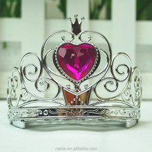 cheap custom pageant crowns tiara for decoration palstic bridal tiaras
