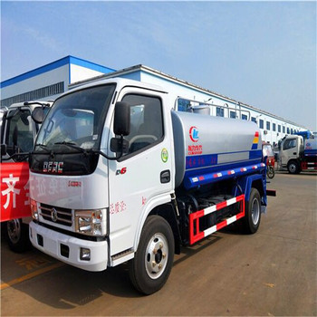 MINI water tank sprinkler truck price for export
