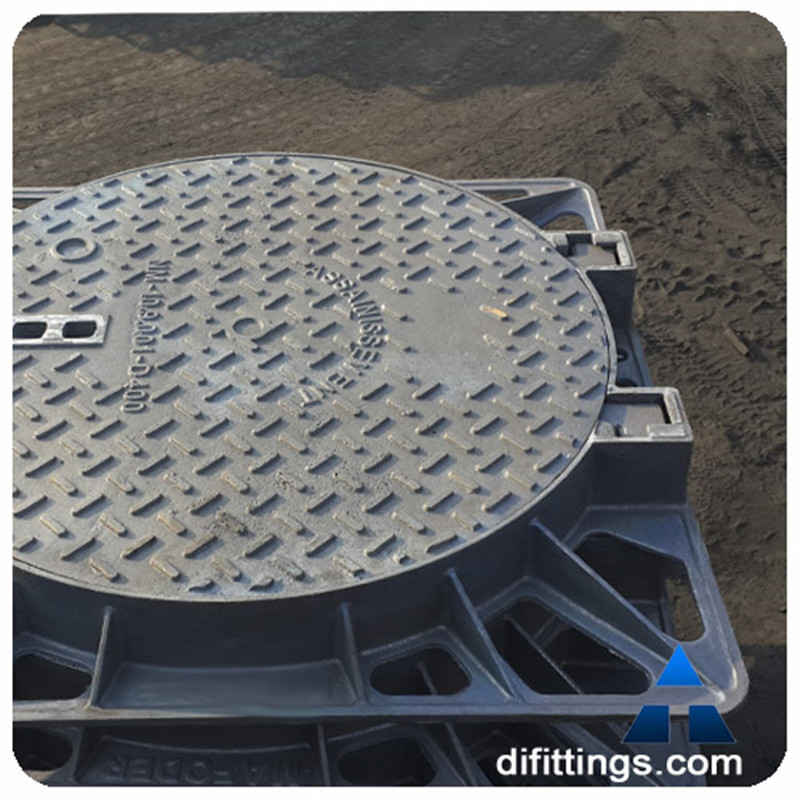 Round 800mm locking manhole covers and road grates with building materials
