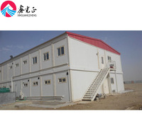 Two storey anti earthquake modern decoration container prefab house