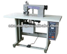 Ultrasonic lace making machine