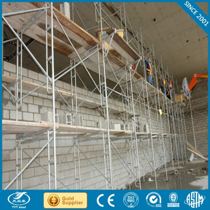 Factory in Tianjin different types of scaffold with low price