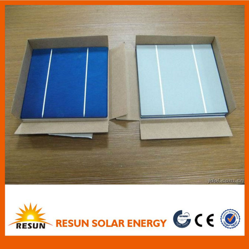 A grade B grade 2BB 3BB 156mmx156mm poly solar cell
