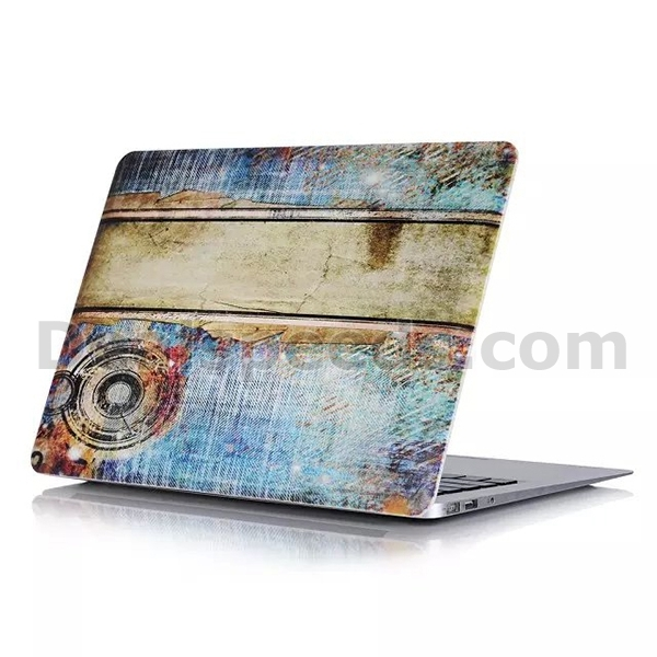 Mechanization of Industry Age Cowboy Hard Cover Back Case for MacBook Retina Pro 15.4