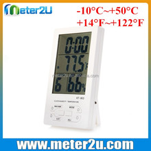 decorative room lcd display digital room temperature gauge