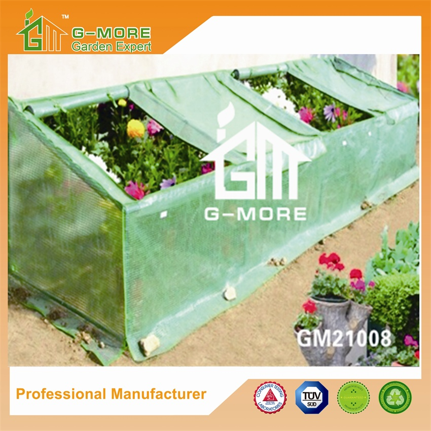 G-MORE Cold Frame Series 360x92x72cm, PE cover Various sizes ,Steel tube Greenhouse(GM21008-2)