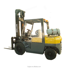 second hand LPG straddle side-loader Forklift Truck with Japan Engine