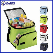 2016 FDA test thermal bag for lunch box, flat folding cooler lunch bag