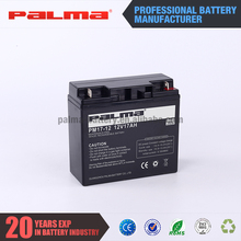 12V 17ah cheap fashionable cheap new product promotion VRLA battery price