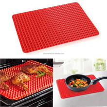 Pyramid Pan Non Stick Silicone Cooking Mat Oven Baking BBQ Tray Sheets