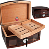 Fancy Two Layers Collection Humidor Cigar