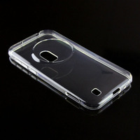 Transparent Clear TPU Soft Back Cover Case For Asus Zenfone Zoom ZX55