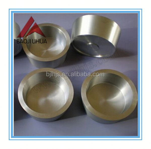 Hot sale induction heating molybdenum crucible