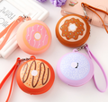 2018 fashion silicone coin wallet earphone bag coin bag silicone