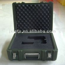 Plastic Military boxes/Plastic Moving Boxes/Plastic Gun Case With Handle