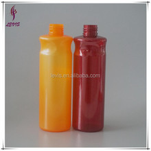 260ml empty nice shape pet plastic bottle with lotion pump