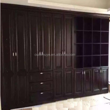Eco-Friendly Bedroom Solid Wooden Clothes Wardrobe