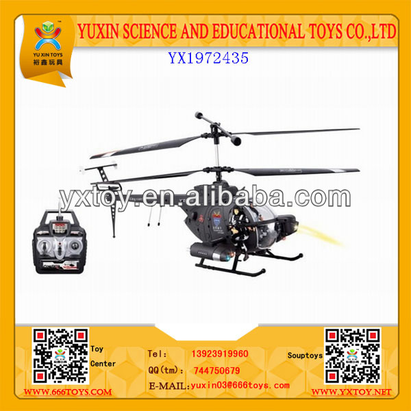 Mini cute remote control helicopter with led lights