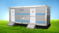 Mobile public toilet design, new design toilet, new public toilet design