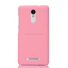 Plastic hard case back cover for Redmi Note 3