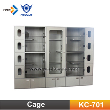 KC-701 Special Design Double-Deck Pet Cat Condo Cage Cat Kennel Crates
