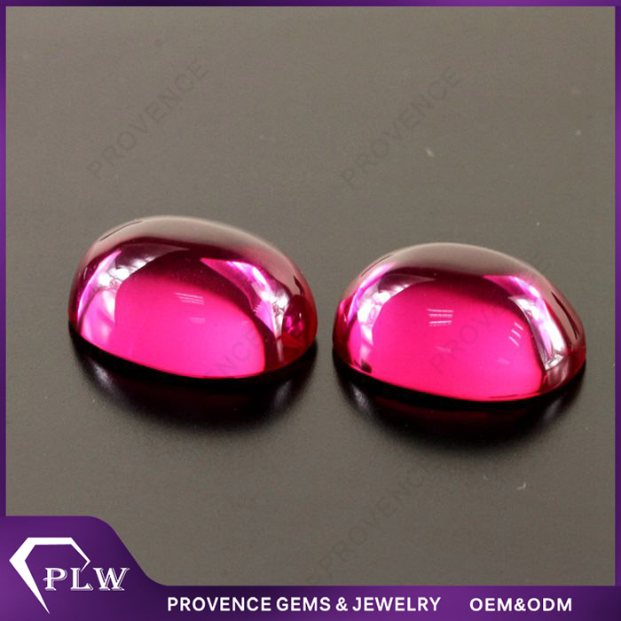 Wholesale Price Oval Shape Rough Natural Burma Ruby Gemstone