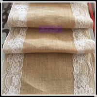 2016 Whosale Burlap Table Runner With