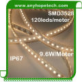 Outdoor new product underwater heat resistant 3528 warm white flexible smd led strip
