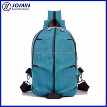 fashion canvas backpack mochila escolar made in quanzhou