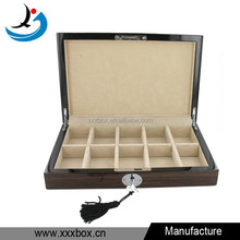 Fashion cufflink wood box wholesale