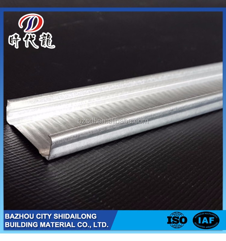 Best price best selling widely use good sale galvanized steel channel dimensions